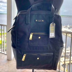 NWT Tutilo NY Black Backpack